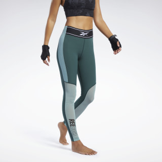 Combat Kickboxing Tights Ivy Green FK2456