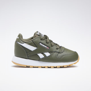 Classic Leather ARMY GREEN / WHITE DV9615