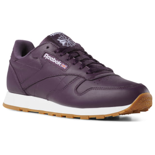 Tenis Classic Leather Leather Mu urban violet / white DV3838
