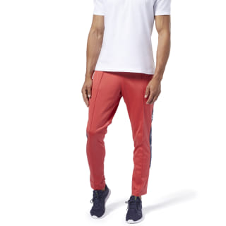 Training Essentials Logo Trackster Pants Rebel Red FI1930