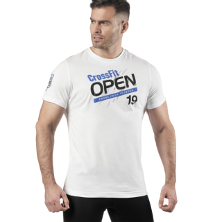 Reebok CrossFit Open T-Shirt White EJ9918