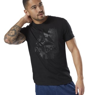 T-shirt Elevated Elements Brand Black D94150