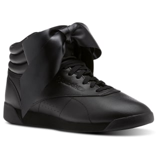 Freestyle Hi Satin Bow Black/Skull Grey CM8904