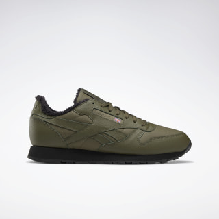 Classic Leather Army Green / Black / None FU7822