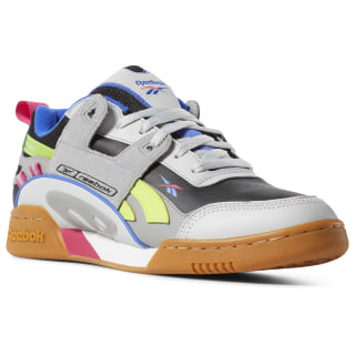 Workout Plus ATI 90s Shoes Skull Grey / Blk / Pink / Lime DV5497