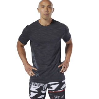 Camiseta Training Essentials Marble Group Black DU3746