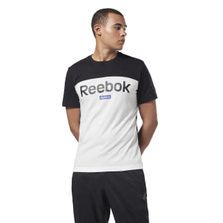 Training Essentials Linear Logo Tee Black FI1950