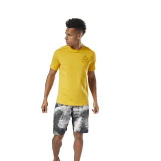 T-shirt Speedwick Graphic MOVE Yellow DN9397