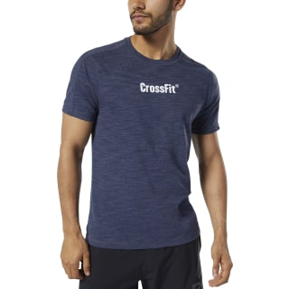 T-shirt Reebok CrossFit® Marble Mélange Heritage Navy DY8425