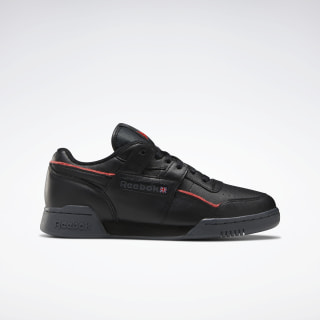 Workout Plus Shoes True Grey 8 / Black / Radiant Red EG6443