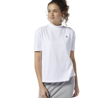 Polo Classic Leather A Tee white DT7206