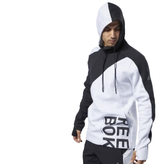 One Series Training Colorblock Hoodie Light Grey Heather EC0988