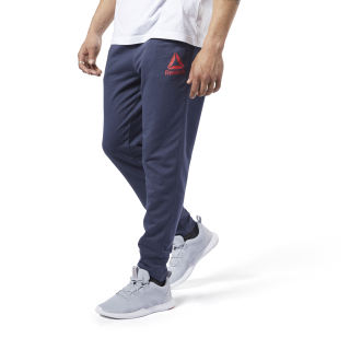 Спортивные брюки Training Essentials Logo heritage navy FI1946