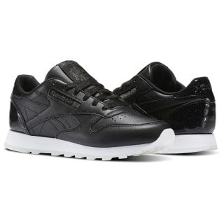 Tênis Classic Leather L PEARL- BLACK/WHITE/ICE BD5806