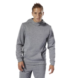 Sudadera WOR Double Knit Medium Grey Heather DP6158