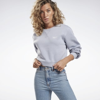 Reebok Sweatshirt met Ronde Hals Denim Dust / Denim Dust FS6682