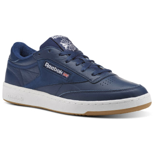 Club C 85 ESTL Washed Blue / White / Gum CN0384