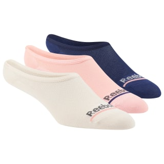 Reebok Microfiber Liner Socks - 3 Pack Assorted CL5163