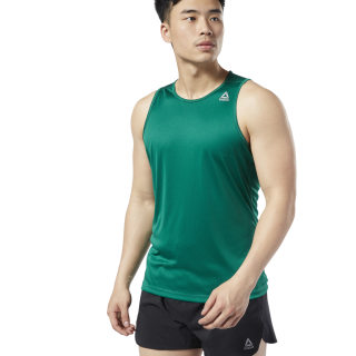 Run Essentials Speedwick Singlet Clover Green EC2525
