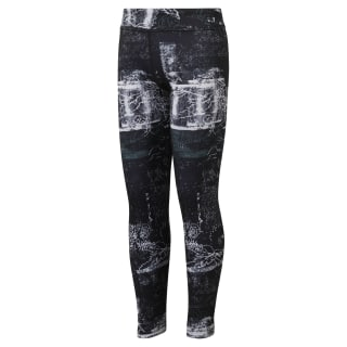 Girls Reebok Adventure Studio Legging Black DH4291