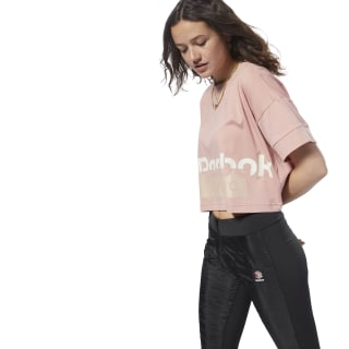 Classics  Cropped Tee Chalk Pink / Bare Beige DH1323