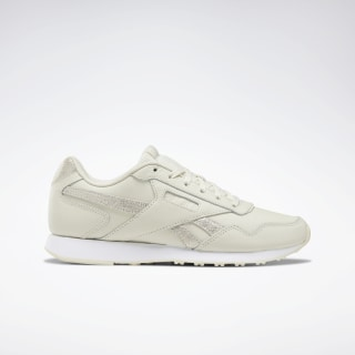 Reebok Royal Glide LX Shoes Alabaster / Gold Met / White DV6835