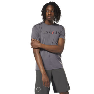 LES MILLS™ Graphic Tee Ash Grey DJ2186