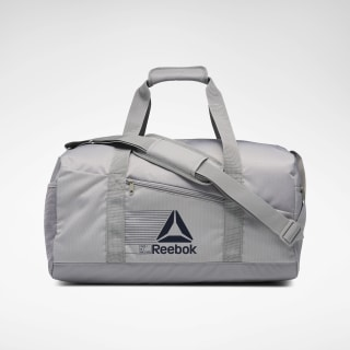 Active Foundation Grip Duffel Bag Medium Mgh Solid Grey EH5558