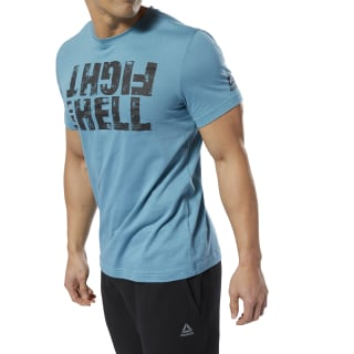 Fight Like Hell Tee Mineral Mist DP6205