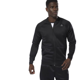 Campera Ost Spacer Track Jacket Black DP6576