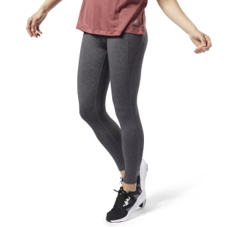 Reebok Lux Tights 2.0 Dark Grey Heather EC5888