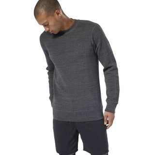Felpa Reebok CrossFit® Crew Dark Grey Heather DU5071