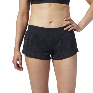 Reebok CrossFit® MyoKnit Shorts Black / Cold Grey 7 FJ9496