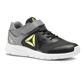 Reebok Rush Runner Shoes Black / Grey / Lime DV9168