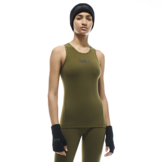 VB Classic Tanktop Vb Army Green FM3497