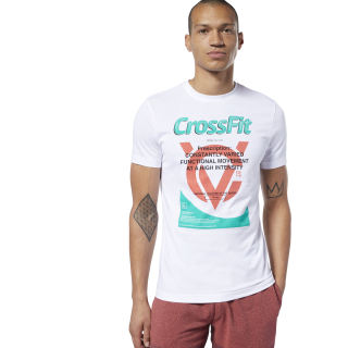 Reebok CrossFit® Prescription Tee White DY8423