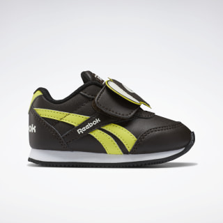Reebok Royal Classic Jogger 2.0 Shoes Dark Brown / Hero Yellow / Classic White EF3756