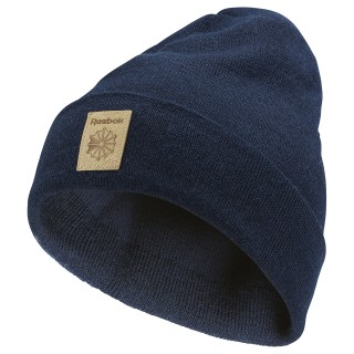 Classics Foundation Beanie Collegiate Navy / Excellent Red CD1376