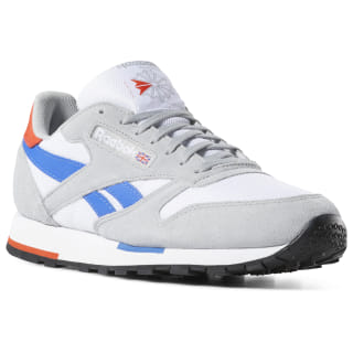 Кроссовки Classic Leather WHT/GRY/COBALT/ORANGE/BLK CN7036