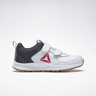 Reebok Almotio 4.0 Shoes White / Navy / Red / Gum DV8717