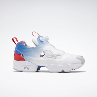 Instapump Fury OG NM Shoes White / Humble Blue / Sterling Grey EH3255