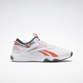 Reebok HIIT Shoes White / Black / Vivid Orange FV6446