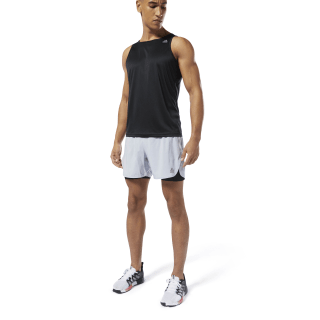Run Essentials Two-in-One Shorts Cold Grey 2 DP6740
