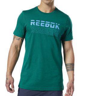 Camiseta gráfica Meet You There Clover Green EI5098