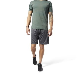 Workout Ready Knitted Shorts Dark Grey Heather CY3614