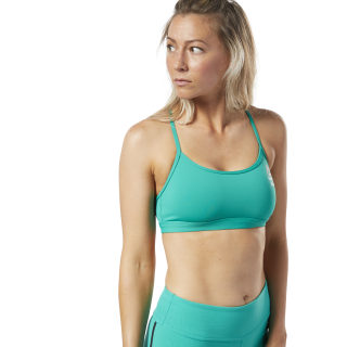 Reebok CrossFit® Medium-Impact Bra Emerald DY8384