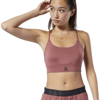 Brassière Workout Ready Low-Impact Rose Dust FN3319