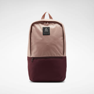 Style Foundation Backpack Chalk Pink / Lux Maroon EC5441