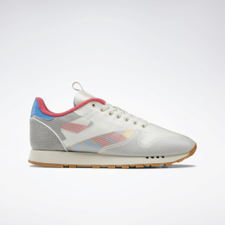 Classic Leather Alabaster / Cyan / Pink / White DV7218