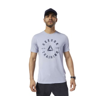 Training Speedwick Tee Denim Dust EC2045